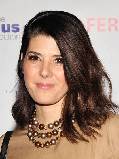matt smith hairstyle : marisa tomei after anti aging