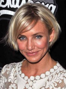 CAMERON DIAZ NEW HAIR COLOR And STYLE